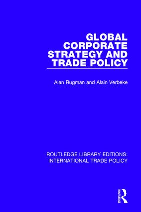 Global Corporate Strategy and Trade Policy book cover