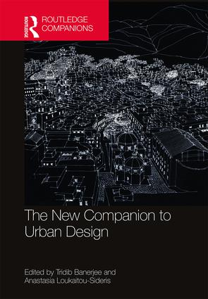 The New Companion to Urban Design: 1st Edition (Hardback) book cover