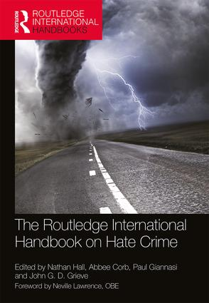 The Routledge International Handbook on Hate Crime book cover