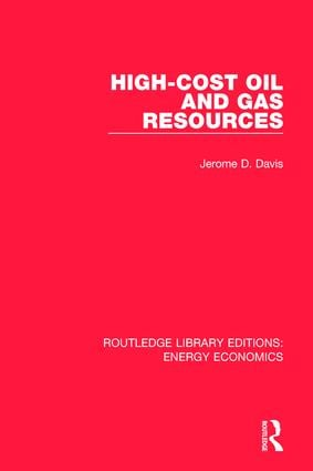 High-cost Oil and Gas Resources book cover