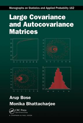 Large Covariance and Autocovariance Matrices book cover