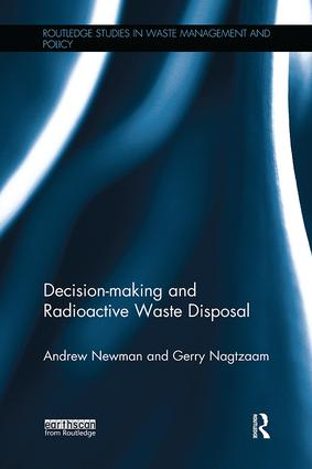 Decision-making and Radioactive Waste Disposal book cover