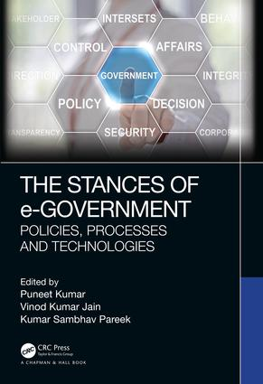 The Stances of e-Government: Policies, Processes and Technologies book cover