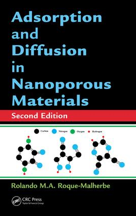 Adsorption and Diffusion in Nanoporous Materials: 2nd Edition (Hardback) book cover