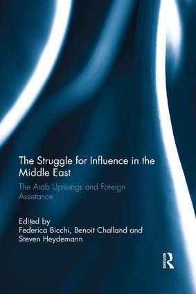 The Struggle for Influence in the Middle East: The Arab Uprisings and Foreign Assistance book cover