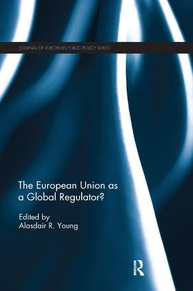 The European Union as a Global Regulator?: 1st Edition (Paperback) book cover