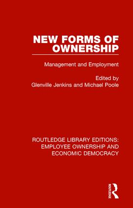New Forms of Ownership: Management and Employment book cover