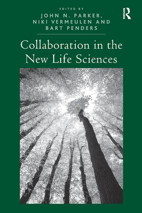 Collaboration in the New Life Sciences: 1st Edition (Paperback) book cover