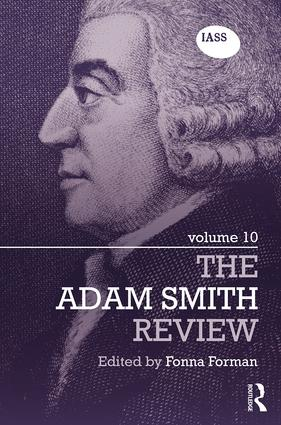 The Adam Smith Review: Volume 10: 1st Edition (Hardback) book cover