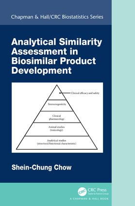 Analytical Similarity Assessment in Biosimilar Product Development: 1st Edition (Hardback) book cover