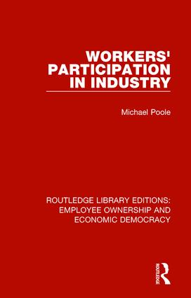 Workers' Participation in Industry book cover