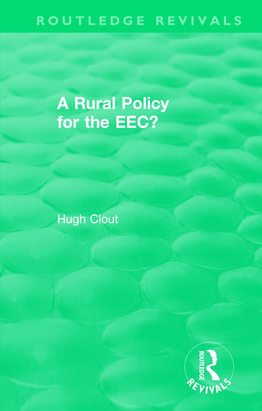 Routledge Revivals: A Rural Policy for the EEC (1984): 1st Edition (Paperback) book cover
