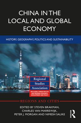 China in the Local and Global Economy: History, Geography, Politics and Sustainability book cover