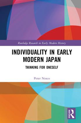 Individuality in Early Modern Japan: Thinking for Oneself book cover