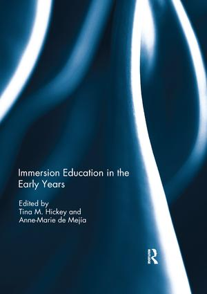 Immersion Education in the Early Years: 1st Edition (Paperback) book cover