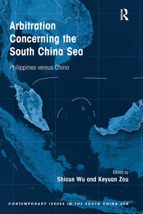 Arbitration Concerning the South China Sea: Philippines versus China book cover