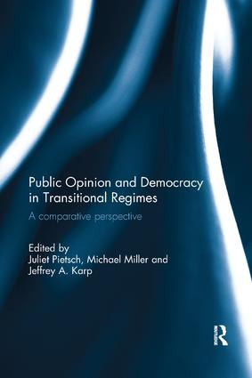 Public Opinion and Democracy in Transitional Regimes: A Comparative Perspective, 1st Edition (Paperback) book cover