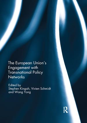 The European Union's Engagement with Transnational Policy Networks: 1st Edition (Paperback) book cover