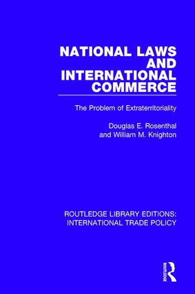 National Laws and International Commerce: The Problem of Extraterritoriality book cover
