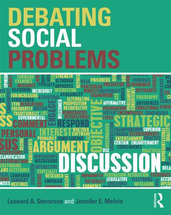 Debating Social Problems: 1st Edition (Paperback) book cover