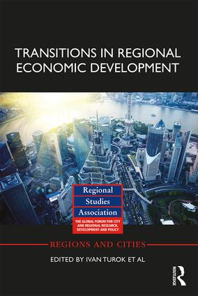 Transitions in Regional Economic Development: 1st Edition (Hardback) book cover