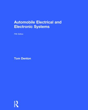 Automobile Electrical and Electronic Systems: 5th Edition (Hardback) book cover