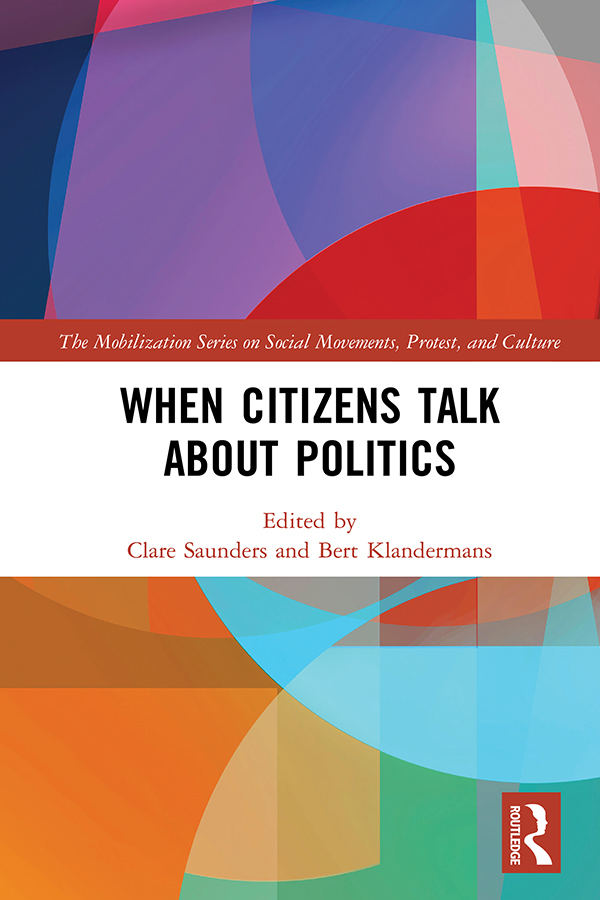When Citizens Talk About Politics book cover