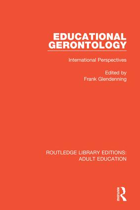 Educational Gerontology: International Perspectives book cover