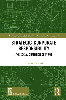 Strategic Corporate Responsibility: The Social Dimension of Firms book cover