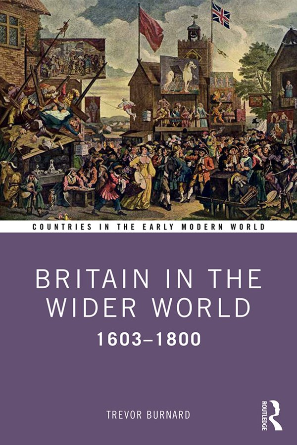 Britain in the Wider World: 1603–1800 book cover