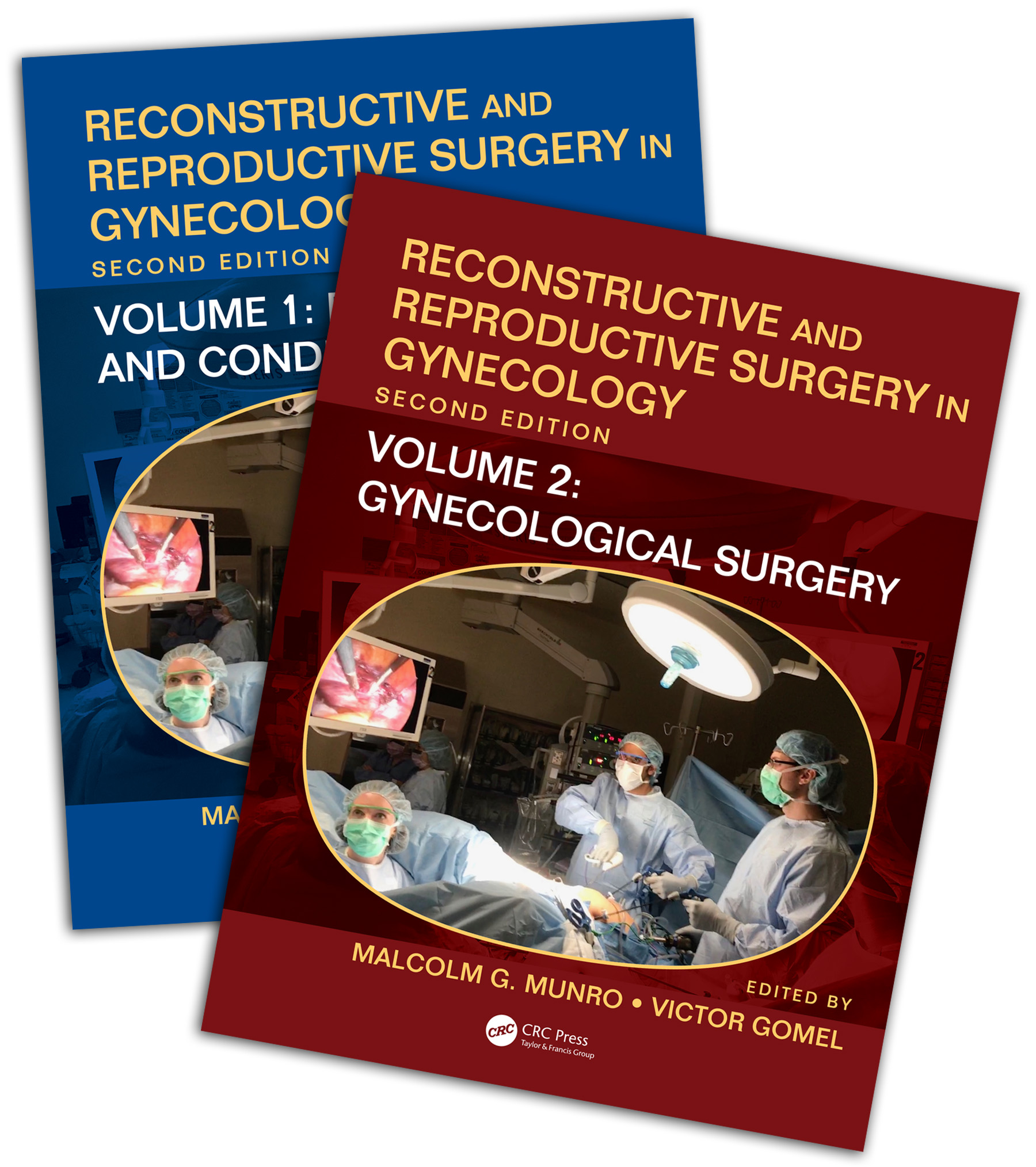 Reconstructive and Reproductive Surgery in Gynecology, Second Edition: Two Volume Set book cover