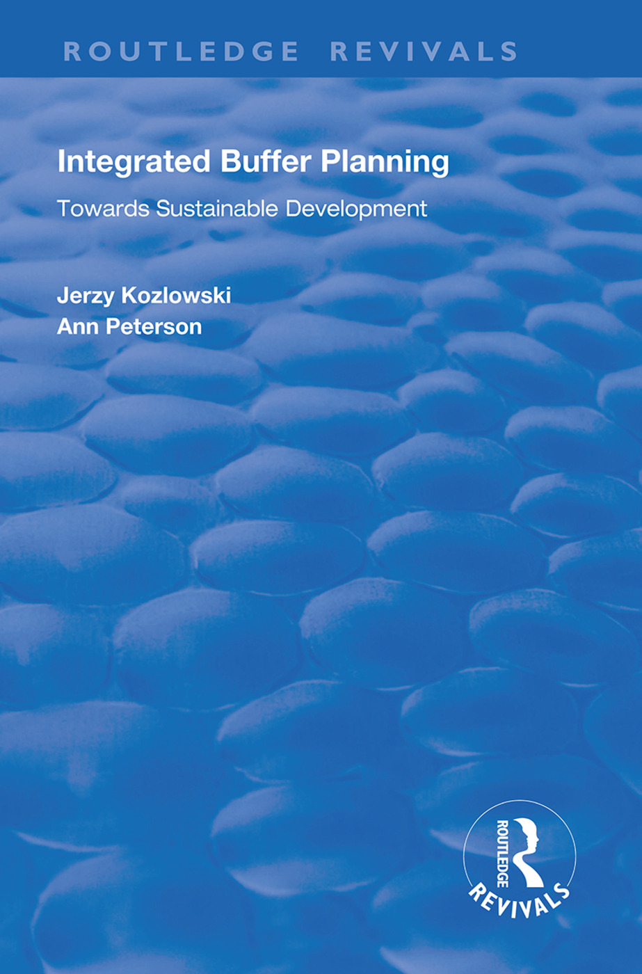 Integrated Buffer Planning: Towards Sustainable Development, 1st Edition (Paperback) book cover