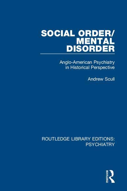 Social Order/Mental Disorder