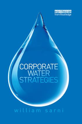 Corporate Water Strategies: 1st Edition (Paperback) book cover