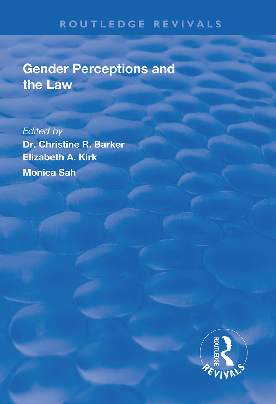 Gender Perceptions and the Law book cover