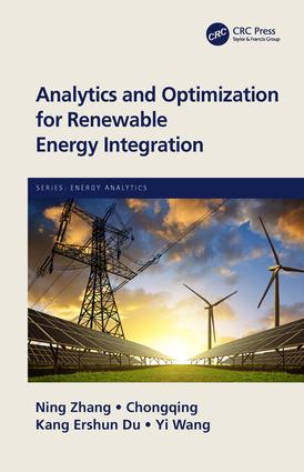 Analytics and Optimization for Renewable Energy Integration book cover