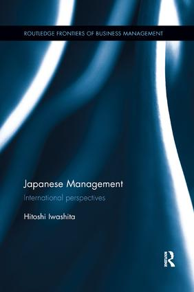 Japanese Management: International perspectives, 1st Edition (Paperback) book cover