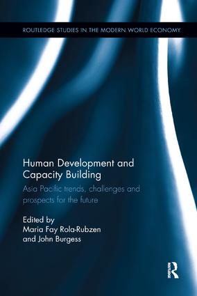 Human Development and Capacity Building: Asia Pacific trends, challenges and prospects for the future, 1st Edition (Paperback) book cover