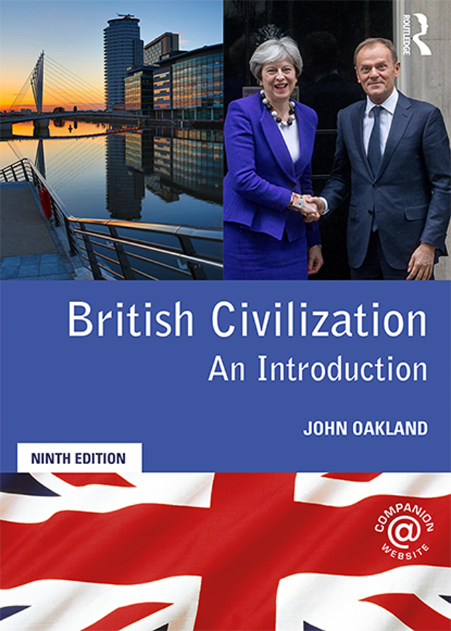 British Civilization: An Introduction book cover