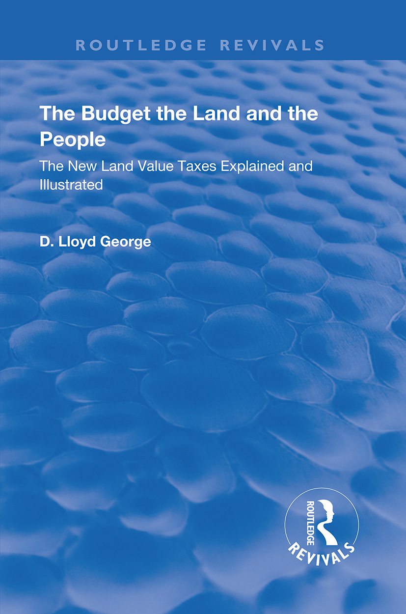 The Budget the Land and the People