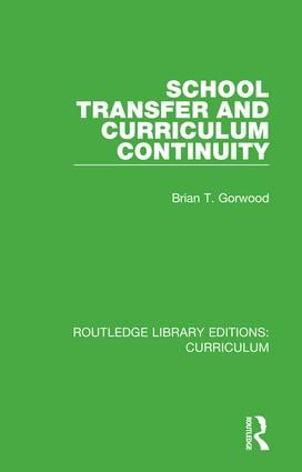 School Transfer and Curriculum Continuity book cover