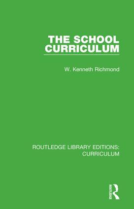 The School Curriculum book cover