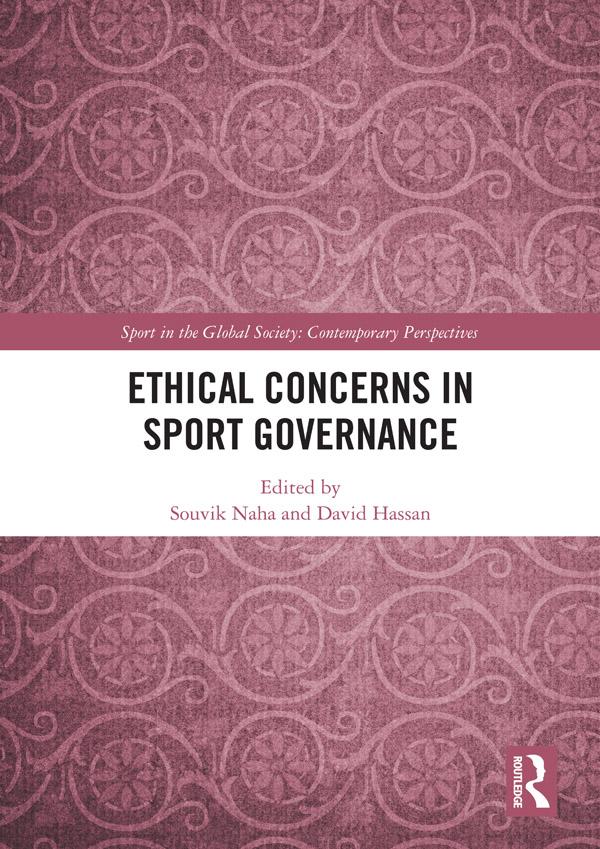 Ethical Concerns in Sport Governance: 1st Edition (Hardback) book cover