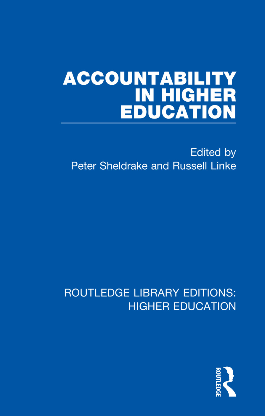 Accountability in Higher Education book cover