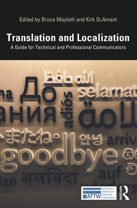 Translation and Localization: A Guide for Technical and Professional Communicators, 1st Edition (Paperback) book cover