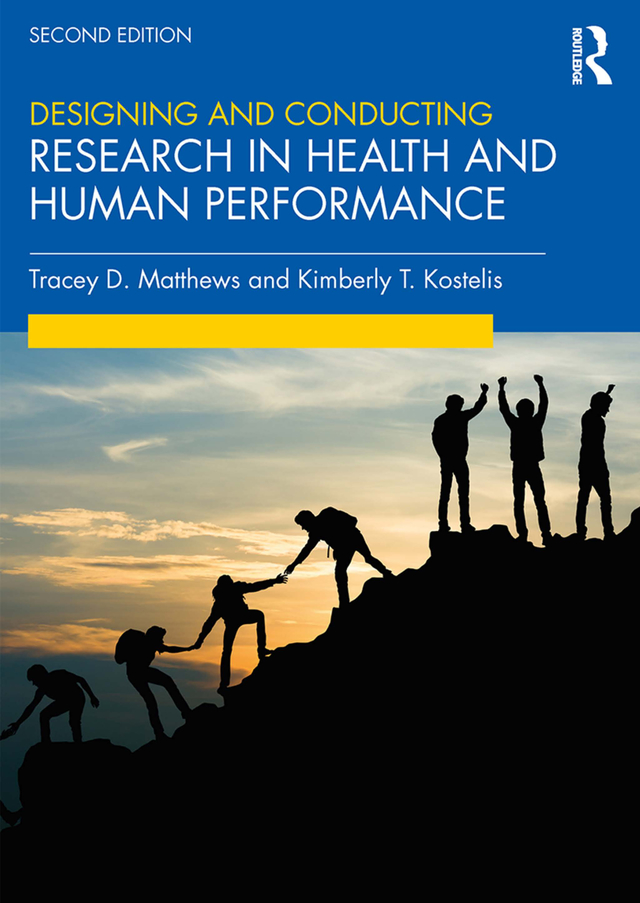 Designing and Conducting Research in Health and Human Performance book cover