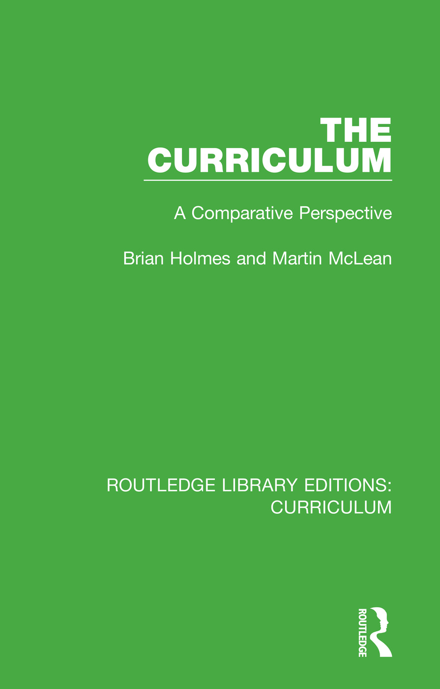 The Curriculum: A Comparative Perspective book cover