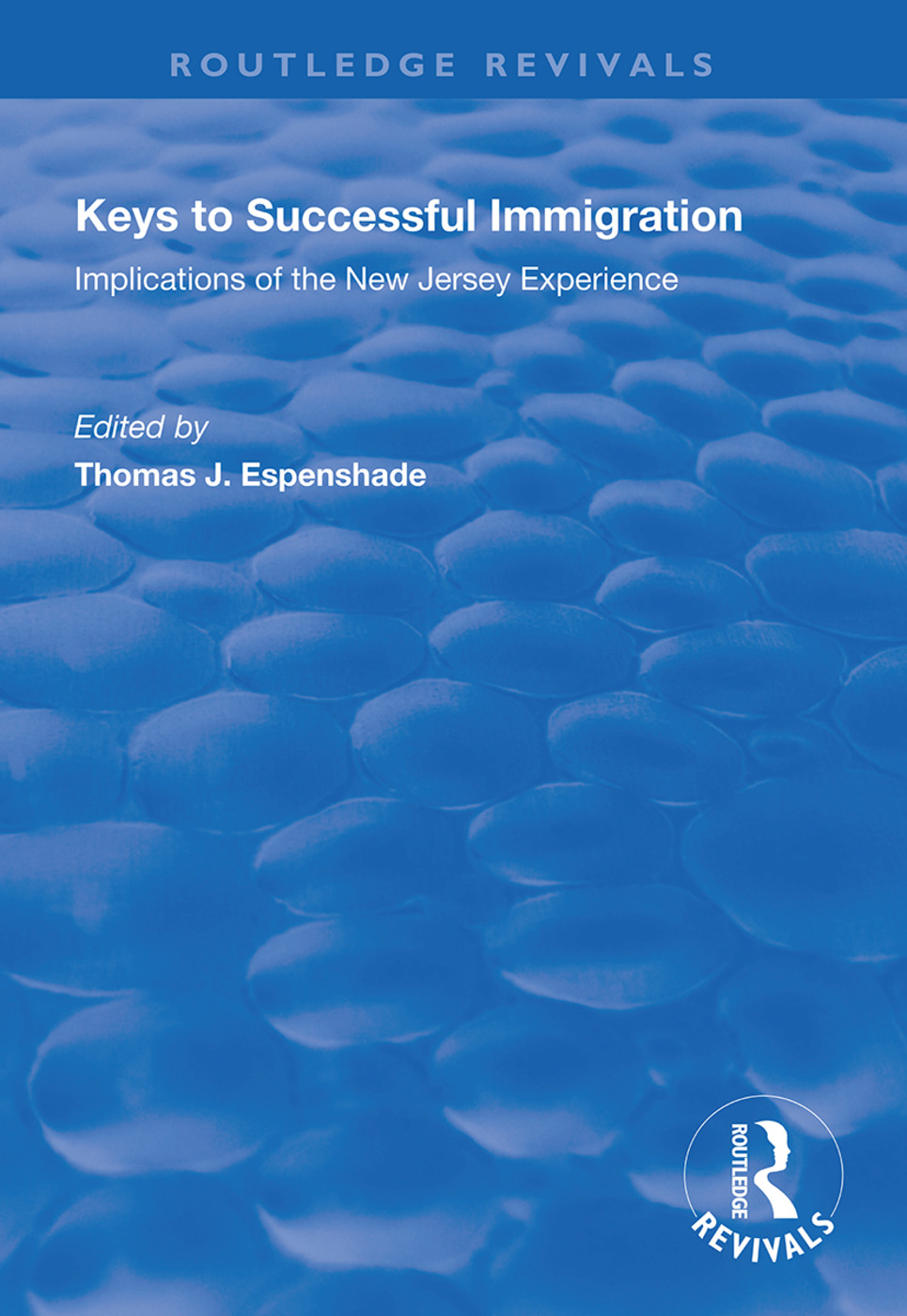 Keys to Successful Immigration: Implications of the New Jersey Experience book cover