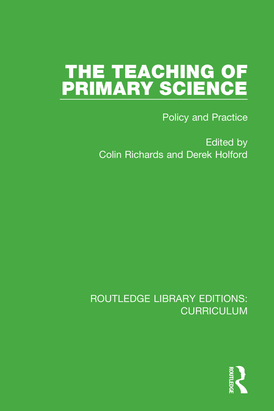 The Teaching of Primary Science: Policy and Practice book cover