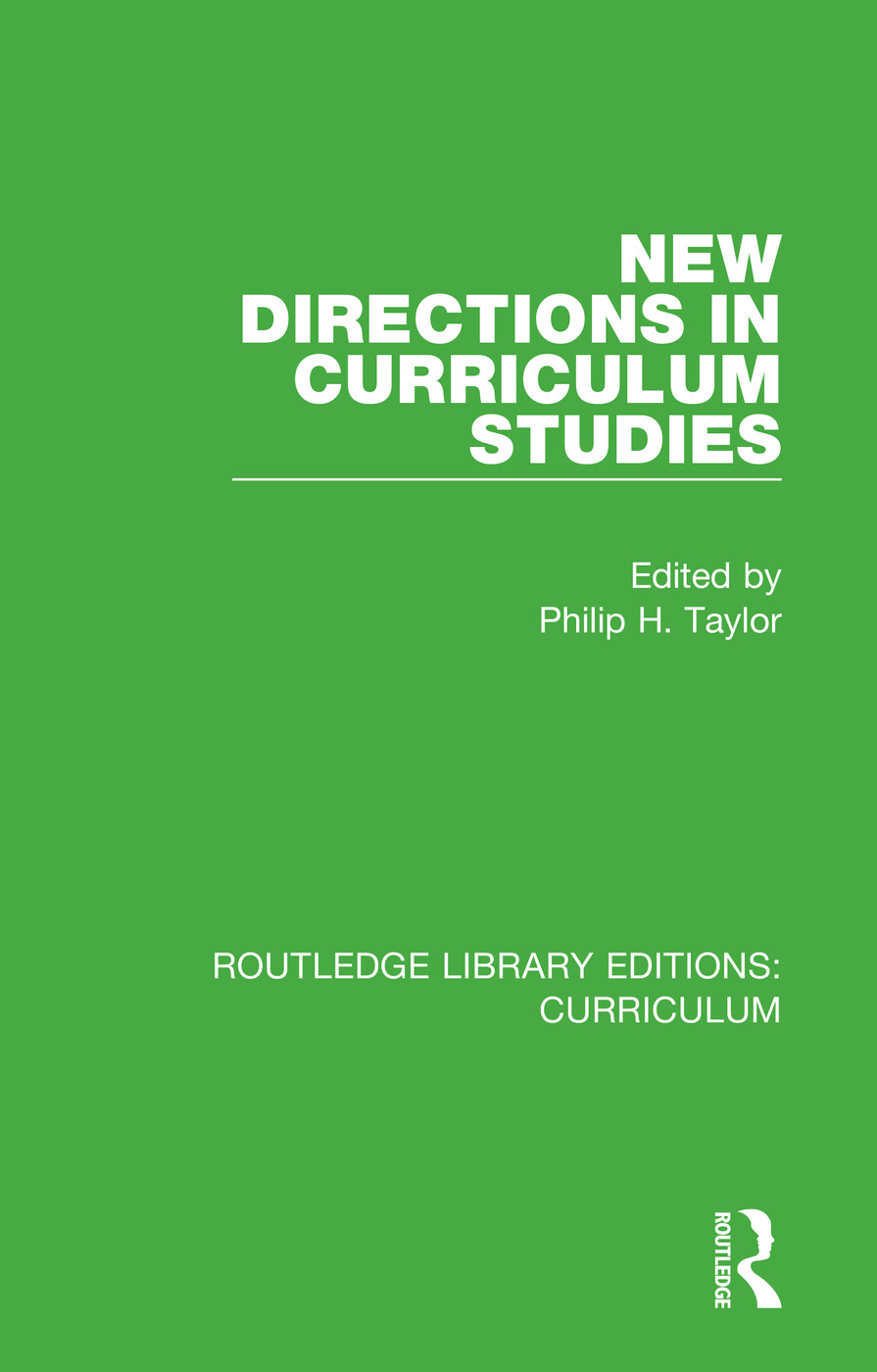 New Directions in Curriculum Studies book cover